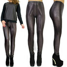 Leder-look-Treggings-Maat-S-M