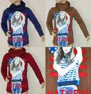 Shirt-met-sjaal-L-DY-0759-Bruin-maat-122-128