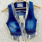 Jeans-Vestje-+-kant-maat-S