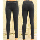 Jeans-Treggings-Miss-Bon-Dames-Black-maat-38