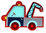 Wandlamp-Takelwagen