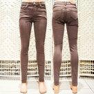 Skinny-Jeans-Dames-Bruin-maat-40