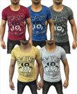 Tshirt-New-York-Heren-Blauw-maat-M
