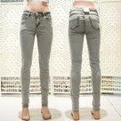 Jeans-Skinny-Grijs-Camel-maat-38