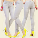 Skinny-Jeans-Dames-Grijs-maat-38