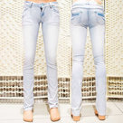 Skinny-Jeans-Dames-Blue-maat-38