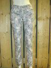 Skinny-Jeans-Dames-grijs-bloemen-maat-42