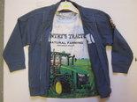 Vest-+-Trekker-Tshirt-John-Deere-maat-104