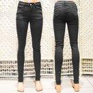 Jeans-Dames-Zwart-maat-38