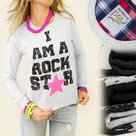 Sweater-Rock-Star-Grijs-maat-L