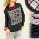 Sweater-Vague-Antraciet-maat-M