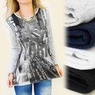 Shirt-Dames-NEW-YORK-Wit-maat-S
