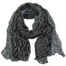 sjaal-Zwart-Antraciet