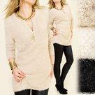 Lange-Pullover-Dames-Camel-One-Size