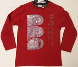 Shirt-Jongens-Blue-Seven-Rood-maat-104