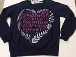 Sweater-Heart-Donkerblauw-maat-XL
