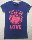 Tshirt-Max-Collection-Meisjes-Donkerblauw-32-0500