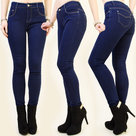 Jeans-M6504-Dames-Dark-Blue