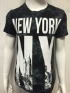 Tshirt-New-York-Zwart-maat-110-116
