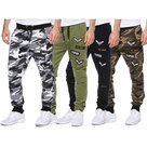 Sweatbroek-Heren-Army-Style-Grijs-Maat-M