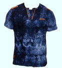 Tshirt-Violento-Heren-Donkerblauw