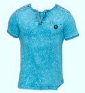 Tshirt-Violento-Heren-Aqua