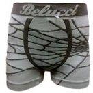 Naadloze-boxer-Belucci-Jongens-Grijs-maat-140-164