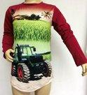 Shirt-Trekker-(FENDT)-Jongens-Rood