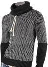 Pullover-Dames-Zwart-Wit