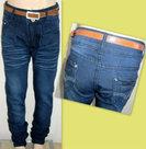 Skinny-Jeans-Meisjes-Dark-Blue-maat-110-116
