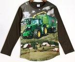 Shirt-Trekker-(JOHN-DEERE)-Jongens-Olijfgroen