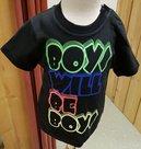 Mini-Tshirt-Jongens-Zwart-maat-74