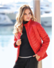 BLUE-SEVEN-Winter-Jas-Dames-Rood-maat-46