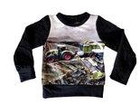 Shirt-Trekker-CLAAS-Jongens-Zwart