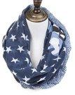 sjaal-Blauw-met-Sterren-en-Army-Patroon