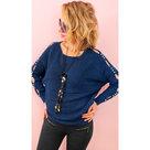 Elegante-dames-trui-Donkerblauw-maat-One-Size