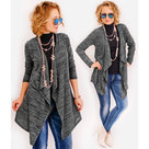 Elegante-dames-vest-Antraciet-maat-One-Size