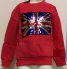 Tover-Sweater-Jongens-Rood