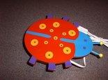 Wandlamp-Lieveheersbeestje