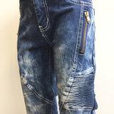 Jeans Squared & Cubes Jongens Dark Blue_7