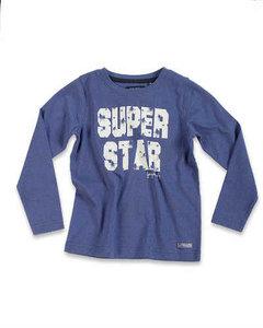 Shirt Blue Seven Meisjes Jeansblauw