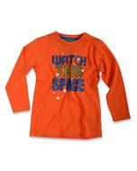 Blue Seven Shirt Jongens Oranje, maat 98
