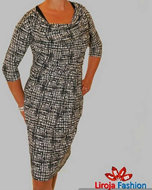 Jurk ZwartMaat Seven Dames 38 Blue Fashion Liroja nw0OPX8k