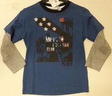 Shirt Jongens Blue Seven Blauw, maat 98