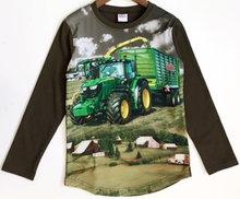 Shirt Trekker (JOHN DEERE) Jongens Olijfgroen
