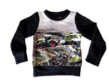 Shirt Trekker CLAAS Jongens Zwart