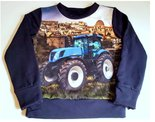 Shirt-Trekker-New-Holland-Jongens-Donkerblauw
