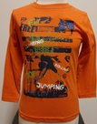 Shirt-Blue-Seven-Jongens-Oranje-maat-98
