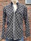 Overhemd-Heren-Zwart-maat-L