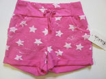 Short-Meisjes-Sterren-Pink-maat-110-116